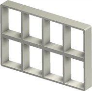 Стальная рама S 4+4x4 primed
