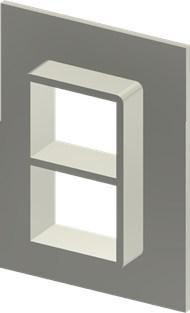 Стальная рама SF 2+2x1 W Ex PRIMED