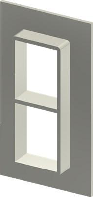 Стальная рама SF 4+4x1 W Ex PRIMED