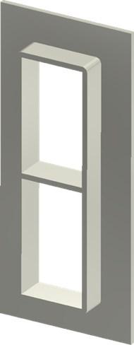 Алюминиевая рама SF 6+6x1