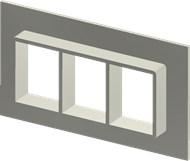 Алюминиевая рама SF 4x3