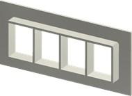 Алюминиевая рама SF 4x4