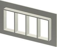 Алюминиевая рама SF 6x4