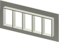 Алюминиевая рама SF 6x5