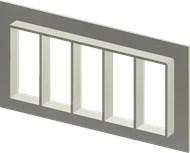 Алюминиевая рама SF 8x5