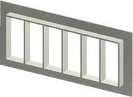 Алюминиевая рама SF 8x6