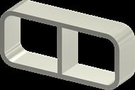 Рама Roxtec SRC-2x2-R20-ALU