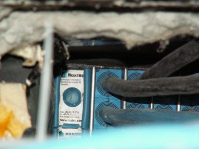 Герметичная прокладка кабелей в фонтане