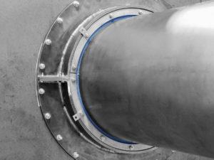 Муфта гермоввод для металлических труб