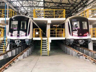 Проект в шанхайском метрополитене от распространения огня и влаги
