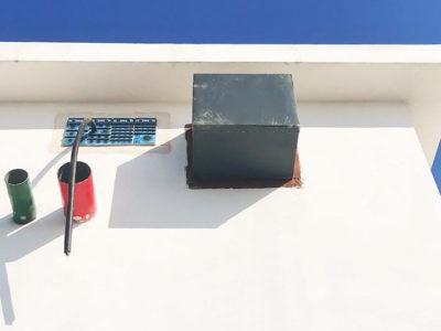 Прокладка кабелей с использованием рамы Roxtec G