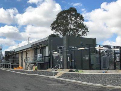 Огнестойкое решение на Ж/Д подстанции в Сиднее