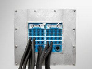 Огнестойкое решение для прокладки кабелей