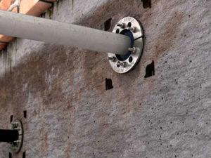 Гидроизоляция ввода в подвал
