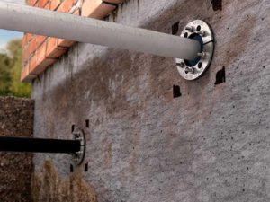 Прокладка электричества под землей к дому