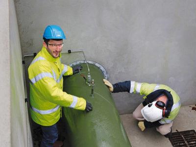 Прокладка газопровода через стену - 5