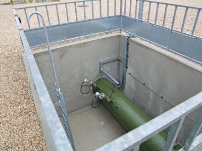 Прокладка газопровода через стену - 2