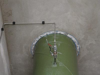 Прокладка газопровода через стену - 3