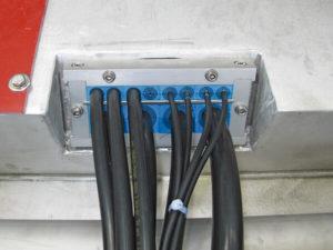 Разборный кабельный ввод